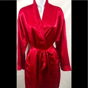 Victoria's Secret one size red kimono robe